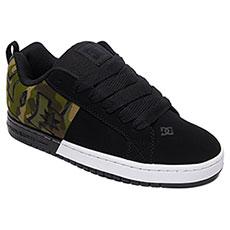 Кеды низкие DC Shoes Ct Graffik Sq Black/Camo