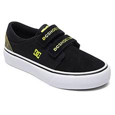 Кеды низкие детские DC Shoes Trase V Tx Se Black/Yellow