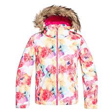 Куртка утепленная детская Roxy Jet Ski Girl Bright White Sunshin