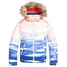 Куртка утепленная Roxy Jet Ski Se Girl Mid Denim Yumi Yamad