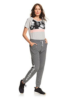 Штаны спортивные женские Roxy Waves Odity Charcoal Heather