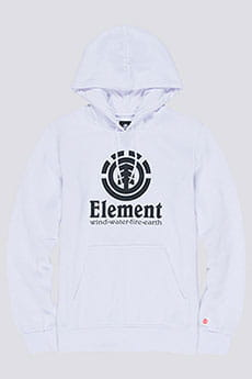 Толстовка кенгуру Element Vertical Ho Optic White