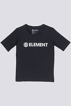 Футболка Element Logo Black