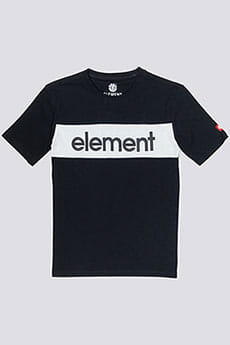 Футболка детская Element Primo Flag Cr Boy Flint Black