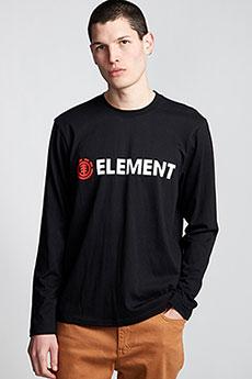 Толстовка классическая Element Blazin Ls Flint Black