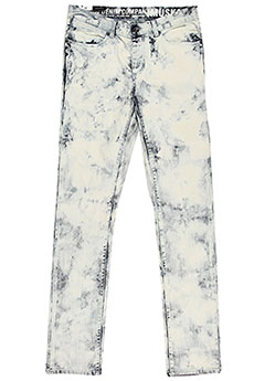Джинсы прямые Krew Denim Pants Bleach Blue