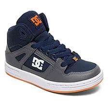 Кеды высокие детские DC Shoes Pure Ht Grey/Dark Navy