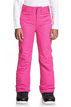 Штаны сноубордические женские Roxy Backyard Beetroot Pink11