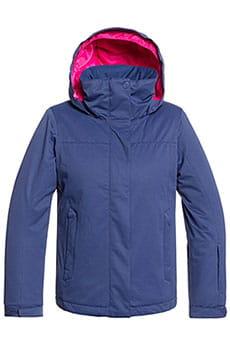 Куртка утепленная Roxy Jetty Sol Medieval Blue