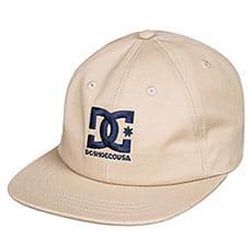 Бейсболка с прямым козырьком DC Shoes Logo Decon Khaki