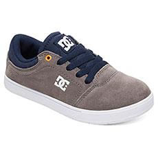Кеды низкие детские DC Shoes Crisis Grey/Dark Navy