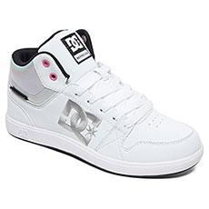 Кеды высокие женские DC Shoes Unvrstyplus Sen White Geo