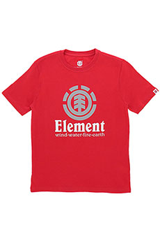 Футболка Element Vertical Fire Red