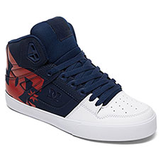 Кеды высокие DC Shoes Pure Ht Wc Sp Navy/Red
