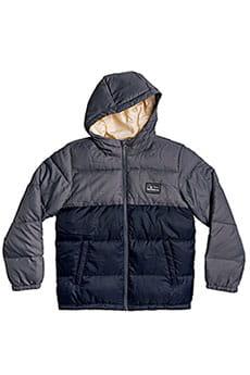 Детская QUIKSILVER оверсайз куртка с капюшоном Binalang Nulla