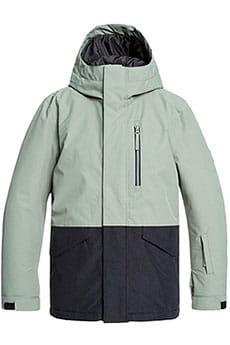 Куртка утепленная QUIKSILVER Mission Y Agave Green