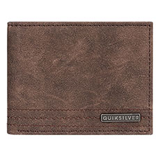 Кошелек QUIKSILVER Stitchywalletvi Chocolate Brown