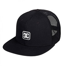 Бейсболка с сеткой DC Shoes Perfstation Black