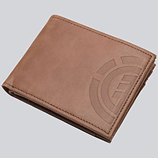 Кошелек Element Daily Elite Wallet Brown