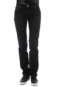 Джинсы прямые женские Carhartt WIP Ziggy Pant Louisiana Black