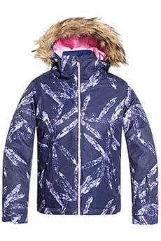Куртка утепленная детская Roxy Jet Ski Girl Medieval Blue Arctic