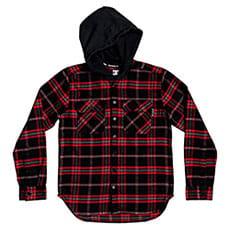 Рубашка в клетку детская DC Shoes Runnels Ls Boy Black -8739-84