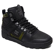 Ботинки зимние DC Shoes Pure Ht Wr Boot Black/Camo