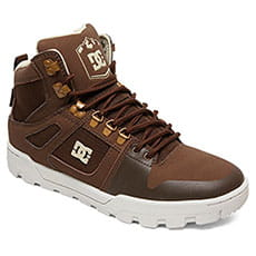 Ботинки зимние DC Shoes Pure Ht Wr Boot Brown