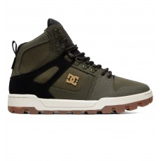Ботинки зимние DC Shoes Pure Ht Wr Boot Olive/Black