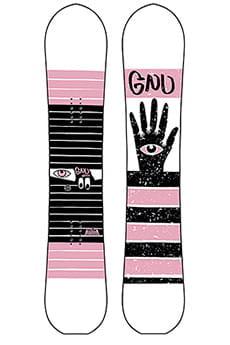 Сноуборд GNU Gloss C2 Multicolor