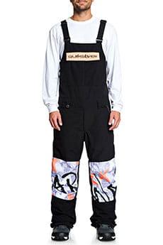 Сноубордические штаны QUIKSILVER с подтяжками Anniversary