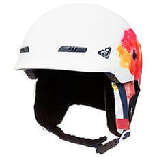 Шлем для сноуборда женский Roxy Angie Bright White Aquarel