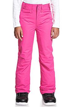 Штаны сноубордические детские Roxy Backyard Prism Pink