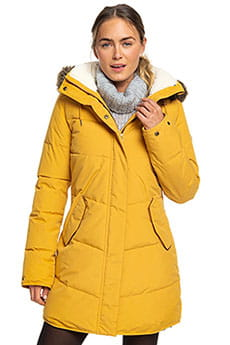 Куртка парка Roxy Ellie Spruce Yellow