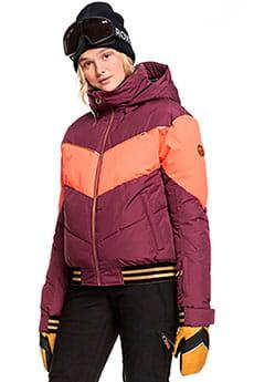 Куртка сноубордическая женский Roxy Tb Summit Grape Wine