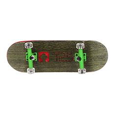 Комплект фингербордов Turbo-FB П10 Wide 32м С Деревянным Боксомграфика Нанесена Гравировкой Green/Green/Clear10
