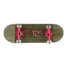 Комплект фингербордов Turbo-FB П10 Wide 32м С Деревянным Боксомграфика Нанесена Гравировкой Green/Pink/Clear11