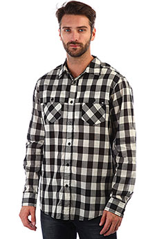 Рубашка в клетку Krew Carter Black