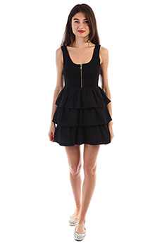 Платье Insight Star Squadron Dress Black
