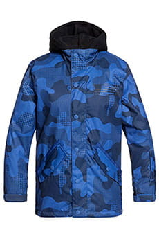 Куртка утепленная детская DC Shoes Union Monaco Blue