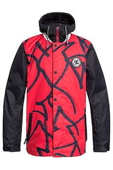 Куртка утепленная DC Shoes Dcla Racing Red Hieroglyp