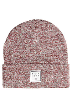 Шапка Billabong Stacked Heather Oxblood