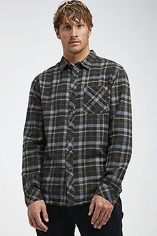Рубашка в клетку Billabong Fremont Flannel Black