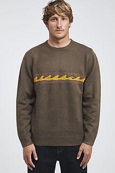 Толстовка классическая Billabong Waves Sweater Dark Earth