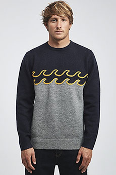 Свитер Billabong Waves Sweater Grey Heather