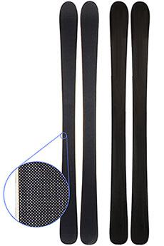 Горные лыжи Turbo-FB Карбон 170 cm Black