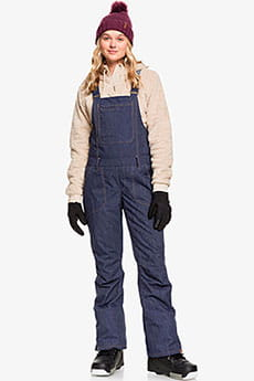 Сноубордические штаны ROXY с подтяжками Rideout