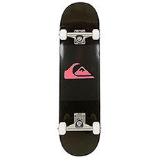 Скейтборд в сборе QUIKSILVER Division Black 7.75 (19,6 см)