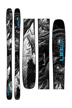 Горные лыжи Lib Tech Ufo 95 Black