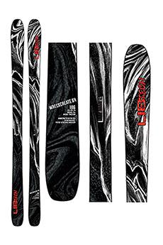 Горные лыжи Lib Tech Wreckreate 84 Black